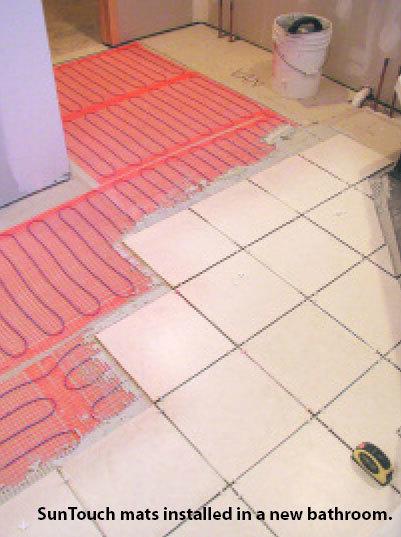 Warm Floors Under Floor Heating Full Kit 240V Floor Mats Easy Heat 120V