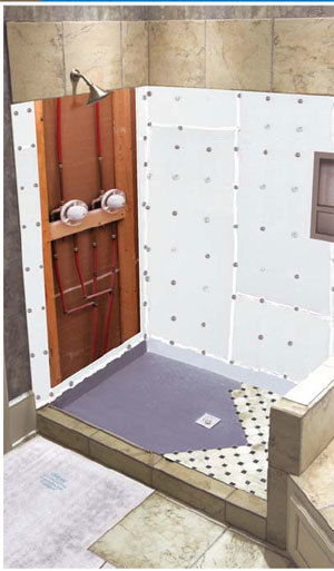Ready To Tile Shower Pan Systems
