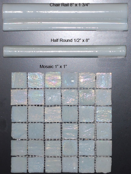 Glass Tile Great Barrier Pearl Blue By Tiledepot Us