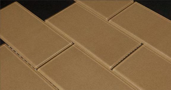 Glass Tile Brick Blocco Coffee Bean 3 X 6 By Flooringsupplyshop Com