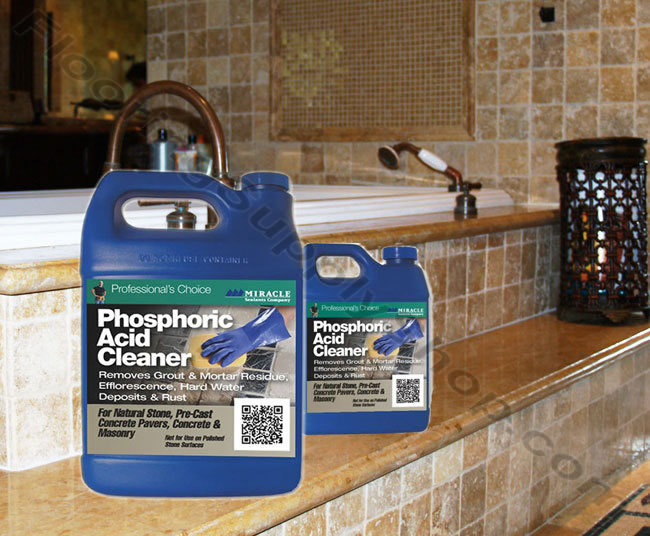 miracle sealants phosphoric acid cleaner by flooringsupplyshop com
